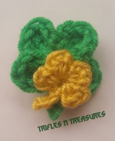 Lucky Charm Pin ~ Tera Kulling - Trifles N Treasures