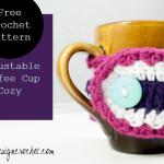 Adjustable Coffee Cup Cozy ~ Oombawka Design