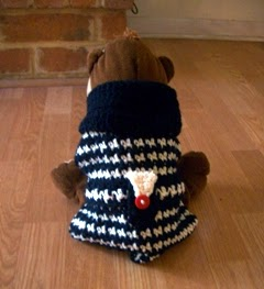 Haute Puppy Sweater ~ Crochet Parfait