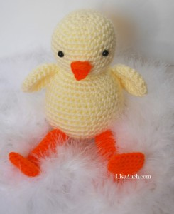 'Lil Chickie Duck' ~ Free Crochet Patterns and Designs by LisaAuch