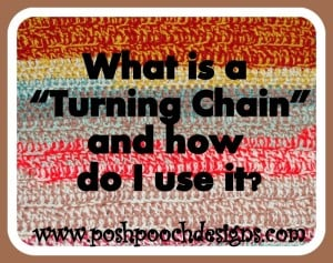 "What Is A ""Turning Chain"" And How Do I Use It? ~ Sara Sach - Posh Pooch Designs"