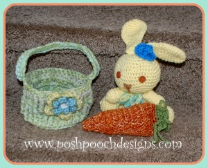Easter Carrot Pouch ~ Sara Sach - Posh Pooch Designs