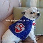 Super Hero Dog Cape ~ Sara Sach - Posh Pooch Designs
