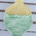 Easter Duckie Hot Pad ~ DragonFlyMomof2 Designs
