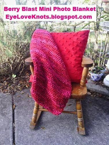 Berry Blast Mini Photo Blanket ~ Alexandra Richards - EyeLoveKnots