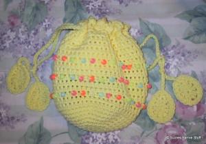 Beaded Easter Bag ~ Suzies Stuff