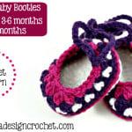 Fiona's Baby Booties ~ Oombawka Design
