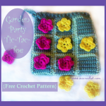 Garden Party Tic-Tac-Toe ~ Oui Crochet