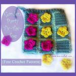 Garden Party Tic-Tac-Toe ~ Oui Crochet