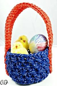 Simple Easter Basket ~ Oombawka Design
