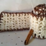 Spiced Eggnog Scarf ~ Crochet is the Way