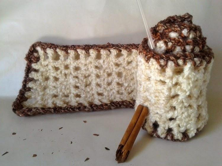 Spiced Eggnog Scarf ~ Crochet is the Way