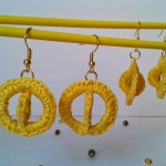 Sun Halo Earrings ~ Crochet is the Way
