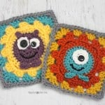 Monster Granny Squares ~ Repeat Crafter Me