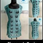 Pineapple Tunic ~ Maz Kwok's Designs
