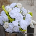 Bridal Flowers – Bouquet and Boutonniere ~ Cre8tion Crochet