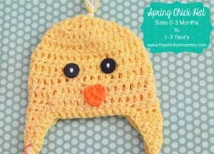 Spring Chick Hat ~ The Stitchin' Mommy