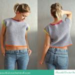 Crochet Crop Top ~ Jane Green – Beautiful Crochet Stuff
