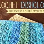 Crochet Dishcloth ~ Rebecca Langford – Little Monkeys Crochet