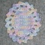 Easter Egg Coaster ~ Crochet N More