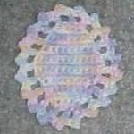 Easter Egg Coaster ~ Crochet N More