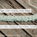 Foundation Single Crochet Tutorial ~ Oombawka Design