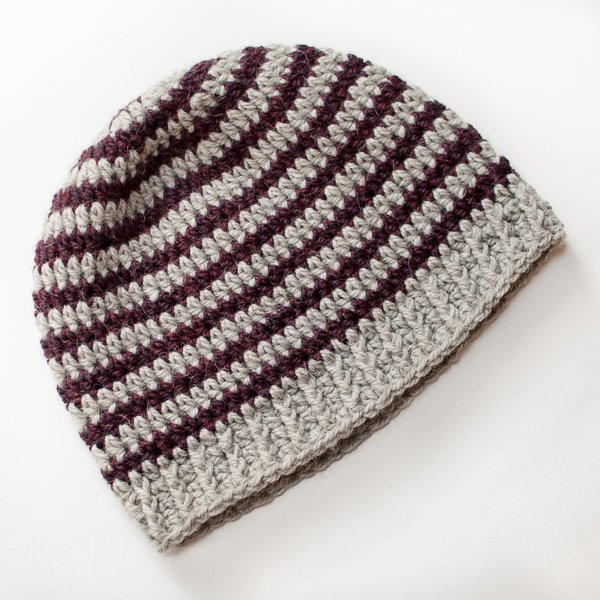 Basic Striped Crochet Hat ~ FREE Crochet Pattern 1a85738f14e