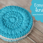 Easy Face Scrubbies ~ The Stitchin' Mommy