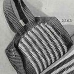 Bag Pattern ~ FREE Vintage Crochet