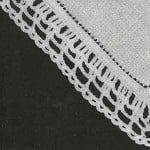 Handkerchief Edging No. 8193 ~ Free Vintage Crochet