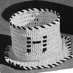 Tumbler Muff Pattern No. 947 ~ Free Vintage Crochet