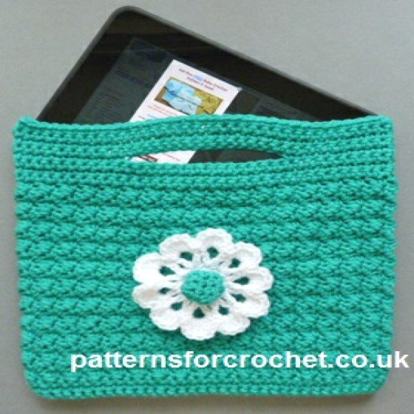 Small Bag with Flower ~ Patterns For Crochet