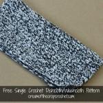 Single Crochet Dishcloth/Washcloth ~ Cream Of The Crop Crochet