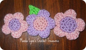 Spring Petals - 3 Sizes ~ Manda Proell - MandaLynn's Crochet Treasures