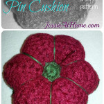 Felted Floral Pincushion ~ Jessie At Home