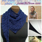 Wrapped in Blue ~ Jessie At Home