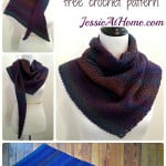 Askew Crochet Wrap ~ Jessie At Home