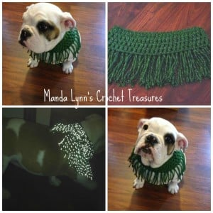 Fringe Reflect Cowl 4 Pup + Sized ~ Manda Proell - MandaLynn's Crochet Treasures