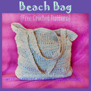 Crochet Beach Bag ~ Oui Crochet