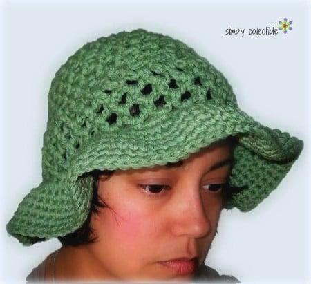 Coralines Sun Hat for Women ~ FREE Crochet Pattern