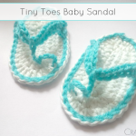 Tiny Toes Baby Sandals ~ The Stitchin' Mommy