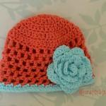Open Stitch Hat – 6 Months ~ Alli Crafts