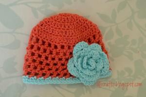 Open Stitch Hat - 6 Months ~ Alli Crafts