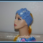 Double Ruffled Headband Earwarmer ~ Posh Pooch Designs