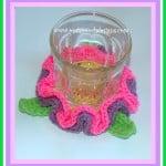 Spring Flower Coaster ~ Sara Sach – Posh Pooch Designs