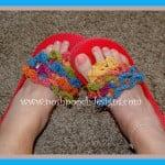 Crocodile Stitch FLip Flop Toppers ~ Sara Sach – Posh Pooch Designs