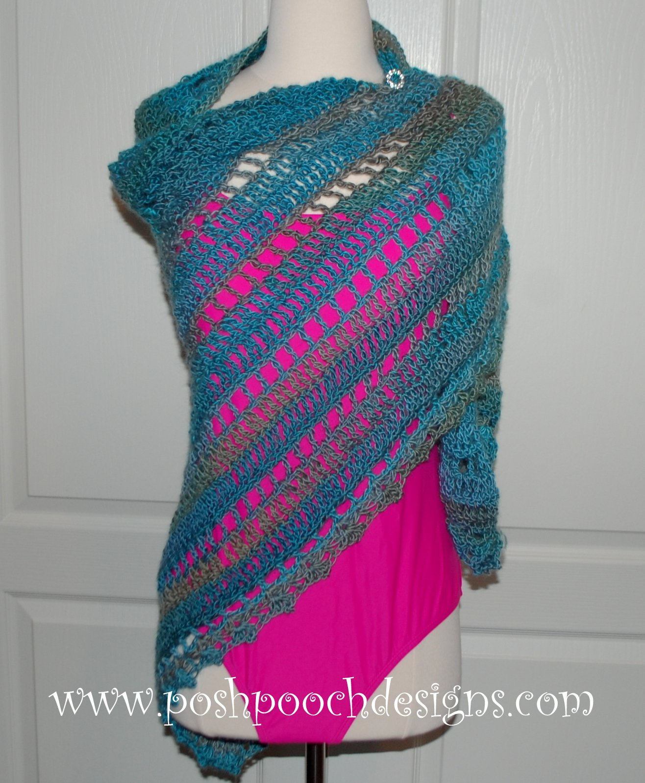 Free Crochet Pattern For Beach Wrap : Beach Vacation Shawl ~ FREE Crochet Pattern