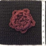 Opening Rose Square ~ Crochet is the Way