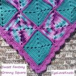 Sweet Fantasy Granny Square Baby Blanket ~ Alexandra – EyeLoveKnots