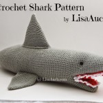 Crochet Shark ~ Free Crochet Patterns and Designs by LisaAuch